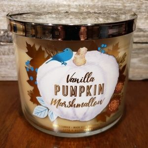 Bath & Body Works • Vanilla Pumpkin Marshmallow